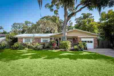 St Augustine Single Family Home For Sale: 24 Marilyn Ave