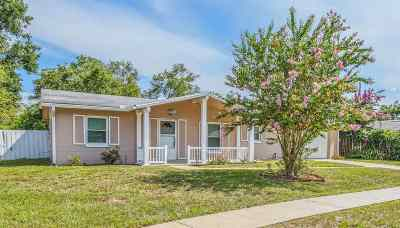 St Augustine FL Single Family Home For Sale: $222,700
