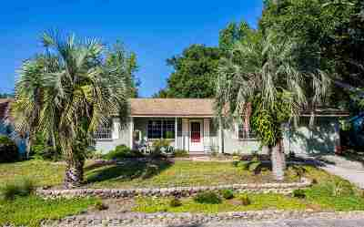 St Augustine FL Single Family Home For Sale: $214,900