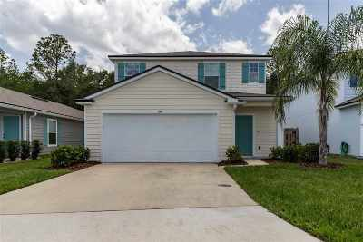 St Augustine FL Single Family Home For Sale: $275,000