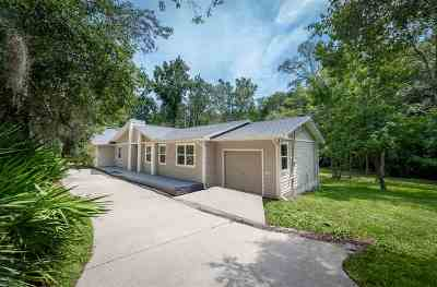 St Augustine Single Family Home For Sale: 3100 Victoria Dr