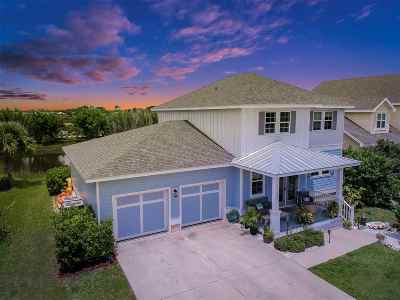 St Augustine Beach Single Family Home For Sale: 764 Tides End Dr.