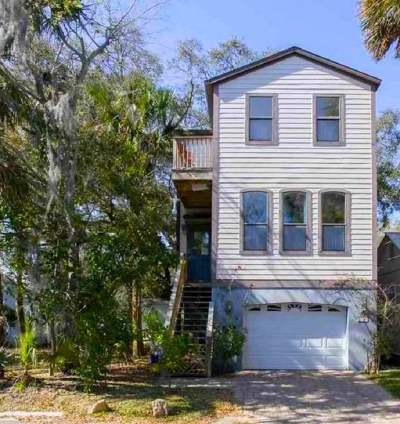 St Augustine Single Family Home For Sale: 134 Pomar St