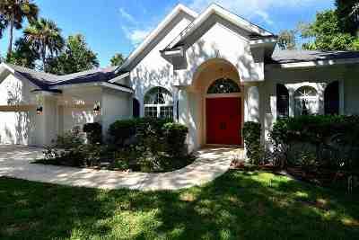 Palm Coast Single Family Home For Sale: 126 Hernandez #Palm Coa