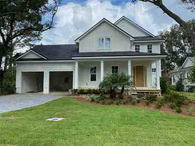 St Augustine Beach Single Family Home For Sale: 420 Ridgeway Rd. #LOT 31