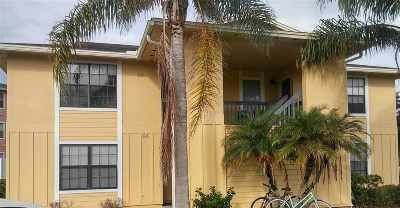 St Augustine Beach Condo For Sale: 54 Clipper Ct. #54