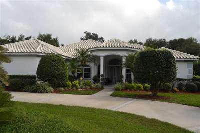 Palm Coast Single Family Home For Sale: 12 Sentry Oak