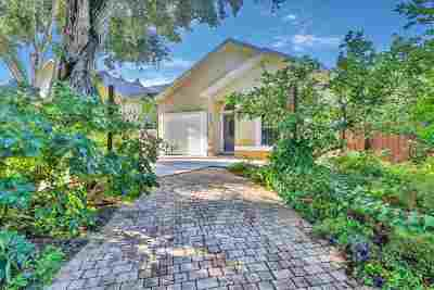 St Augustine Beach FL Single Family Home For Sale: $365,000