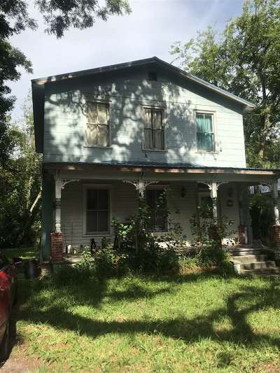 St Augustine Single Family Home For Sale: 17 Davis St