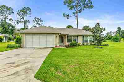 Palm Coast Single Family Home For Sale: 33 Westover