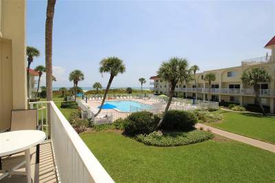 St Augustine Beach Condo For Sale: 1 Ocean Trace Rd #229