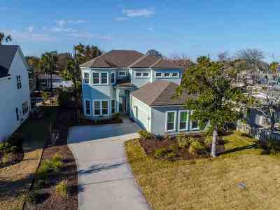 St Augustine FL Single Family Home For Sale: $549,900