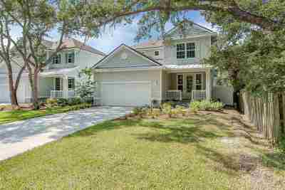 St Augustine FL Single Family Home For Sale: $475,000