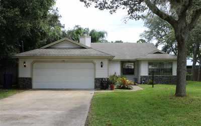 St Augustine Single Family Home For Sale: 133 Bonita Rd