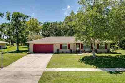 St Augustine Single Family Home For Sale: 515 Sevilla Dr