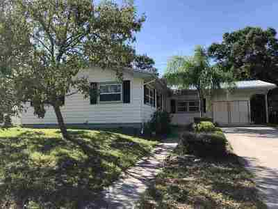 St Augustine Single Family Home For Sale: 831 Alhambra Ave.
