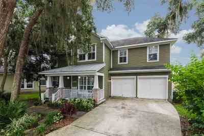 St Augustine Single Family Home For Sale: 1020 Saltwater Cir