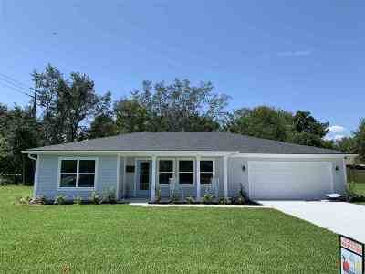 St Augustine Single Family Home For Sale: 1148 Prince Road