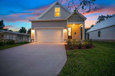 St Augustine Single Family Home For Sale: 45 Menendez Rd