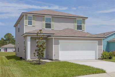 St Augustine Single Family Home For Sale: 195 Ashby Landing