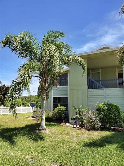 St Augustine Beach Condo For Sale: 3 Schooner Ct
