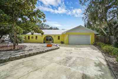 St Augustine Beach Single Family Home For Sale: 39 Atlantic Oaks Circle