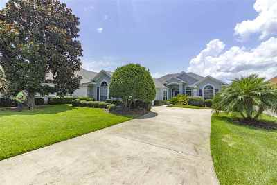 St Augustine Beach Single Family Home For Sale: 411 Players Court