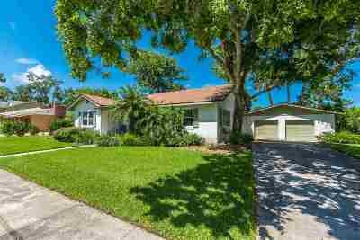 St Augustine Single Family Home For Sale: E 40 Park Ave