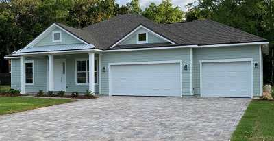St Augustine Beach Single Family Home For Sale: 371 Ocean Forest