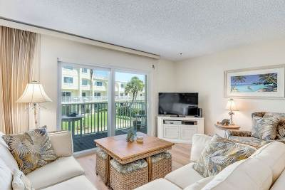 St Augustine Beach Condo For Sale: 1 Ocean Trace #236