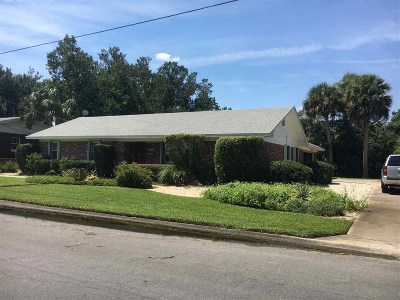 St Augustine Single Family Home For Sale: 4 Flamingo Dr