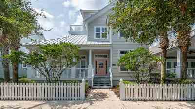 St Augustine Beach Single Family Home For Sale: 788 Ocean Palm Way
