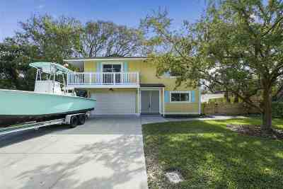 St Augustine Single Family Home For Sale: Fifteenth St