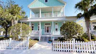 St Augustine Beach Single Family Home For Sale: 109 Island Cottage Way