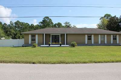 St Augustine Single Family Home For Sale: 100 Morningview Place