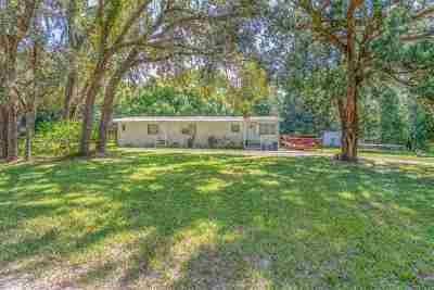St Augustine Single Family Home For Sale: 515 Hayley Road