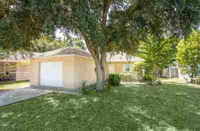St Augustine FL Single Family Home For Sale: $179,000