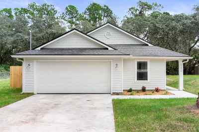 St Augustine Single Family Home For Sale: 6270 Old Dixie Dr