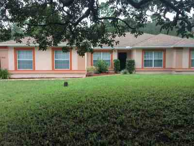 St Augustine Single Family Home For Sale: 6880 Cypress Point Drive