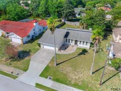 Palm Coast FL Single Family Home For Sale: $199,000