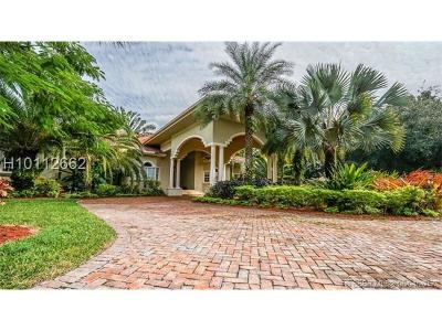 Miramar Single Family Home For Sale: 3301 SW 126th Ave