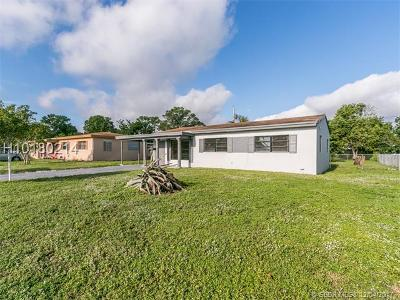 Fort Lauderdale FL Single Family Home For Sale: $219,000