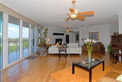 Hollywood Condo/Townhouse For Sale: 6051 N Ocean Drive #603