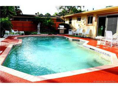Fort Lauderdale FL Single Family Home For Sale: $279,000