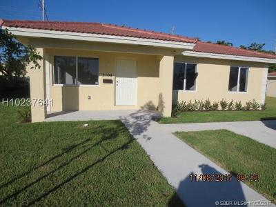 Miramar Single Family Home Backup Contract-Call LA: 3108 Tarpon Dr