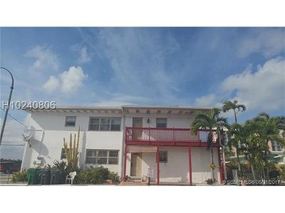 Hollywood Multi Family Home For Sale: 2305 N Ocean Dr