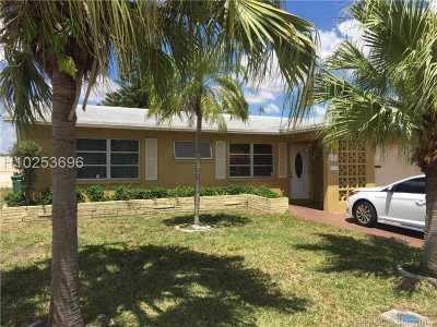Tamarac Single Family Home For Sale: 4911 NW 48 Avenue