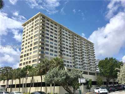 Fort Lauderdale Condo/Townhouse For Sale: 340 Sunset Dr #1804