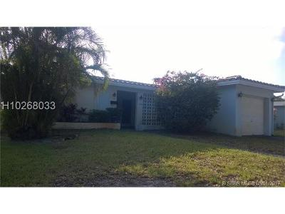 Hollywood Single Family Home For Sale: 1404 N 40th Ave