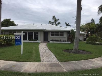 Fort Lauderdale Single Family Home For Sale: 2400 SE 19th Pl